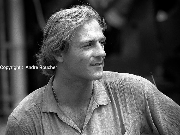 Le numero 10 du Canadien, Guy Lafleur, a Quebec en 1979 (date exacte inconnue)<br /> <br /> PHOTO :  Agence quebec Presse - Alain Renaud