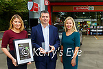 Best Managed Companies: Sean Heaphy, director of the H2 company, Listowel that won platinum award 2021 pictured with Evelyn O'Connell and Gillian Mporris at the Bridge Rd. Premises, Listowel on Monday last.