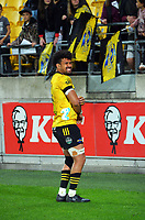 Hurricanes' injured captain Ardie Savea after during the Super Rugby Tran-Tasman match between the Hurricanes and Reds at Sky Stadium in Wellington, New Zealand on Friday, 11 June 2020. Photo: Dave Lintott / lintottphoto.co.nz