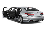 Car images close up view of a 2018 Lexus LS 500h 4 Door Sedan doors