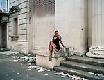 "Photograph by Jeffrey Stockbridge from the project ""Kensington Blues"""