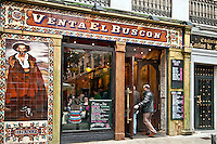 Tapas restaurant, El Buscon, Madrid, Spain