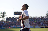 Clint Dempsey celebrates his goal. The USA defeated China, 4-1, in an international friendly at Spartan Stadium, San Jose, CA on June 2, 2007.