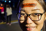 Branding at the Bloomberg Square Mile Relay along Edinburgh Place in the city's central district on 10 November 2016 in Hong Kong, China. Photo by Lucas Schifres / Power Sport Images