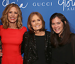 """Christine Lahti, Gloria Steinem and Diane Paulus attend the Opening Night Performance After Party for """"Gloria: A Life"""" on October 18, 2018 at the Gramercy Park Hotel in New York City."""