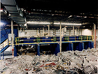 paper Recycling plant.<br /> Copyright :Pierre Roussel 2000