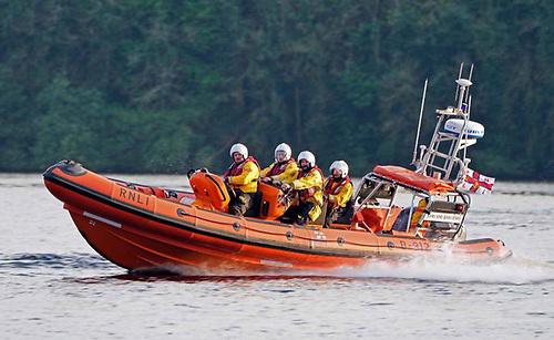 Enniskillen RNLI's inshore lifeboat John and Jean Lewis