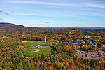 Aerial view of CHRHS, Camden, Maine
