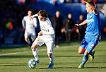 Real Madrid CF's Luka Modric   during the Spanish La Liga match round 19 between Getafe CF and Real Madrid at Santiago Bernabeu Stadium in Madrid, Spain during La Liga match. Jan 04, 2020. (ALTERPHOTOS/Manu R.B.)