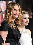 Julia Roberts & Emma Roberts at the Warner Bros Pictures' L.A. Premiere of Valentine's Day held at The Grauman's Chinese Theatre in Hollywood, California on February 08,2010                                                                   Copyright 2009  DVS / RockinExposures