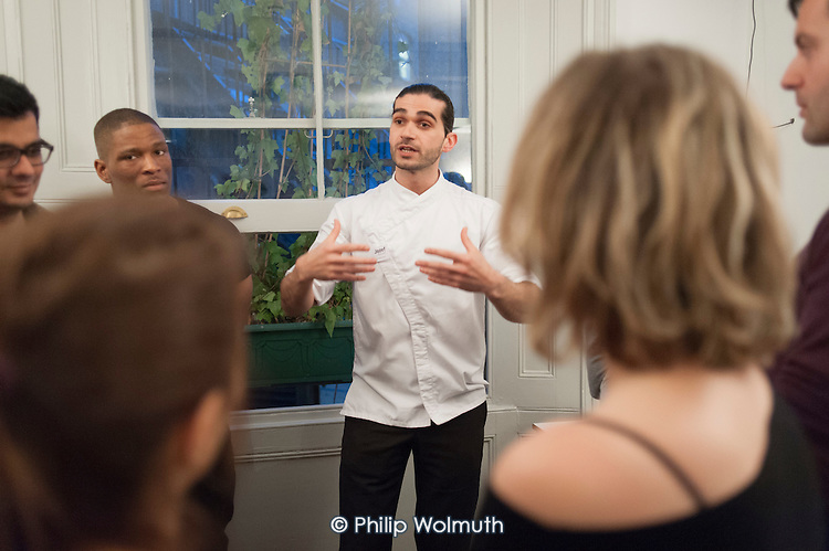 Jozef Youssef, Kitchen Theory seminar, Maida Hill Place.