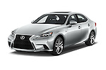 2016 Lexus IS F Sport Line 4 Door Sedan Angular Front stock photos of front three quarter view