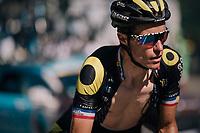 Sylvain Chavanel (FRA/Direct Energie) up the final climb of the day (in Spain!): the Col du Portillon (Cat1/1292m)<br /> <br /> Stage 16: Carcassonne > Bagnères-de-Luchon (218km)<br /> <br /> 105th Tour de France 2018<br /> ©kramon