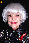 Carol Channing attends the  Celebrity Pro Billards Classic to benefit<br /> Multiple Sclerosis in New York City on <br /> October 12, 1993