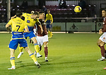 Kelty Hearts v St Johnstone…07.10.20   New Central Park  Betfred Cup<br />Chris Kane scores his goal to make it 2-0<br />Picture by Graeme Hart.<br />Copyright Perthshire Picture Agency<br />Tel: 01738 623350  Mobile: 07990 594431