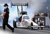 NHRA Mello Yello Drag Racing Series<br /> Route 66 NHRA Nationals<br /> Route 66 Raceway, Joliet, IL USA<br /> Sunday 9 July 2017 Antron Brown, Matco Tools, top fuel dragster<br /> <br /> World Copyright: Mark Rebilas<br /> Rebilas Photo