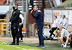 Dundee United v St Johnstone…..01.08.20   Tannadice  SPFL<br />Saints manager Callum Davidson shouts instructions<br />Picture by Graeme Hart.<br />Copyright Perthshire Picture Agency<br />Tel: 01738 623350  Mobile: 07990 594431