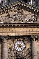 Europe/France/Aquitaine/33/Gironde/Bordeaux: Détail de la façade de la bourse