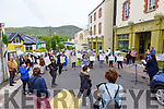 Residents of the Skellig Star DP Centre in Cahersiveen and locals pictured together outside the Skellig Star on Thursday as several speeches were read by Safra Fuard & Claire Horgan.