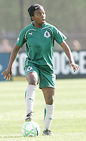 Sheree Gray,.Saint Louis Athletica and LA Sol, played to a 0-0 tie at Robert Hermann Stadium in St Louis, MO. April 25 2009.