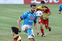 Fernando Llorente of SSC Napoli<br /> during the friendly football match between SSC Napoli and Castel di Sangro Cep 1953 at stadio Patini in Castel di Sangro, Italy, August 28, 2020. <br /> Photo Cesare Purini / Insidefoto