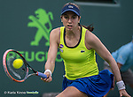 March 24 2016:  Christina McHale (USA) loses to Serena Williams (USA) 6-3, 5-7, 6-2, at the Miami Open being played at Crandon Park Tennis Center in Miami, Key Biscayne, Florida. ©Karla Kinne/Tennisclix/Cal Sports Media