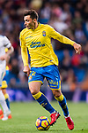 Joaquin Navarro Jimenez, Ximo, of UD Las Palmas in action during the La Liga 2017-18 match between Real Madrid and UD Las Palmas at Estadio Santiago Bernabeu on November 05 2017 in Madrid, Spain. Photo by Diego Gonzalez / Power Sport Images