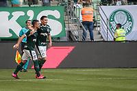 São Paulo (SP), 16/02/2020 - Palmeiras-Mirassol - Raphael Veiga comemora segundo gol. Palmeiras e Mirassol, durante partida válida pela sexta rodada do campeonato paulista 2020, no Allianz Parque, zona oeste da capital, na tarde deste domingo (16).