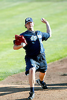 Ryan Hinson, 2010 Eugene Emeralds.Photo by:  Bill Mitchell/Four Seam Images..