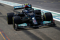 77 BOTTAS Valtteri (fin), Mercedes AMG F1 GP W12 E Performance, action during the Formula 1 Azerbaijan Grand Prix 2021 from June 04 to 06, 2021 on the Baku City Circuit, in Baku, Azerbaijan <br /> FORMULA 1 : Grand Prix Azerbaijan <br /> 05/06/2021 <br /> Photo DPPI/Panoramic/Insidefoto <br /> ITALY ONLY