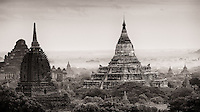 Bagan in monochrome