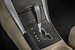 Gear shift detail view of a 2010 Hyundai Sonata GLS