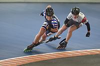 INLINE-SKATEN: HEERENVEEN: 06-04-2019, KNSB Baancompetitie Inline-Skaten, Moniek Klijnstra, ©foto Martin de Jong