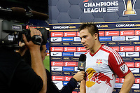 Harrison, NJ - Wednesday Aug. 03, 2016: Alex Muyl during a CONCACAF Champions League match between the New York Red Bulls and Antigua at Red Bull Arena.