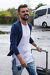 Spainsh David Villa  arriving at the concentration of the spanish national football team in the city of football of Las Rozas in Madrid, Spain. August 28, 2017. (ALTERPHOTOS/Rodrigo Jimenez)