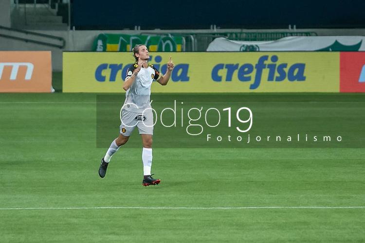 São Paulo (SP), 13/09/2020 - Palmeiras-Sport - I. Maidana, do Sport comemora seu gol, em partida contra o Palmeiras, válida pela 10ª rodada do Campeonato Brasileiro 2020, no Allianz Parque, em São Paulo (SP), neste domingo (13).