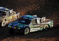Dec. 10, 2011; Chandler, AZ, USA;  LOORRS pro 2 unlimited driver Jeremy McGrath during round 15 at Firebird International Raceway. Mandatory Credit: Mark J. Rebilas-