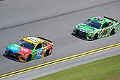 2017 NASCAR Cup - Clash at Daytona<br /> Daytona International Speedway, Daytona Beach, FL USA<br /> Sunday 19 February 2017<br /> Kyle Busch, M&M's Toyota Camry, Matt Kenseth, Interstate Batteries Toyota Camry<br /> World Copyright: John K Harrelson/LAT Images<br /> <br /> <br /> ref: Digital Image 17DAY1jh_01807