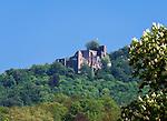 Germany, Baden-Wuerttemberg, Baden-Baden: castle ruin Hohenbaden | Deutschland, Baden-Wuerttemberg, Baden-Baden: Ruine Hohenbaden