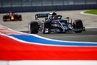 24th September 2021; Sochi, Russia; F1 Grand Prix of Russia free practise sessions;  10 Pierre Gasly FRA, Scuderia AlphaTauri Honda, F1 Grand Prix of Russia at Sochi Autodrom