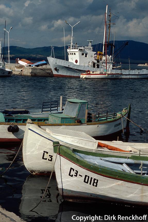 Bulgarien, Hafen von Sosopol