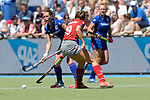 GER - Mannheim, Germany, May 27: During the women semi-final match between Mannheimer HC and Club an der Alster at the Final4 tournament May 27, 2017 at Am Neckarkanal in Mannheim, Germany. (Photo by Dirk Markgraf / www.265-images.com) *** Local caption ***