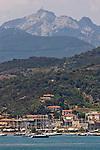 Mount Capanne, Highest point on Elba, Elba; Province of Livorno; Mediterranean Sea; Tyrrhenian Sea; Tuscan archipelago, Italy; West coast of Italy, Italian Coast, Tuscan coast,