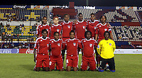 Haiti Starting Eleven. The US Women's National Team defeated Haiti 5-0 during the CONCACAF Women's World Cup Qualifying tournament at Estadio Quintana Roo in Cancun, Mexico on October 28th, 2010.