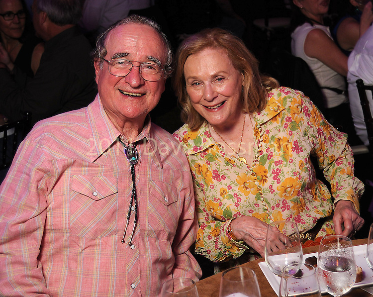 Harry Reasoner and Anne Duncan at the Nature Conservancy's Nature Rocks  Gala at the Houston Polo Club Thursday Oct. 22,2015.(Dave Rossman photo)