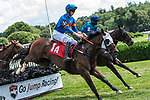 August 12, 2020: Court Ruler #2, ridden by Thomas Garner the 2 1/16 mile Steeplechase to Start the day on Adirondack Stake say at Saratoga Race Course in Saratoga Springs, New York. Rob Simmons/Eclipse Sportswire/CSM