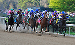 19 March 2011: Martin Garcia guides The Factor (6) to the front in the51st Rebel Stakes at Oaklawn Park in Hot Springs, Arkansas (Jimmy Jones/Eclipse Sportswire)