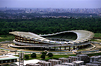 Vista aérea do Estádio Olímpico do Pará - Mangueirão<br /> Belém-Pará-Brasil<br />10/ 2002<br />©Foto: Marcello Lourenço/ Interfoto
