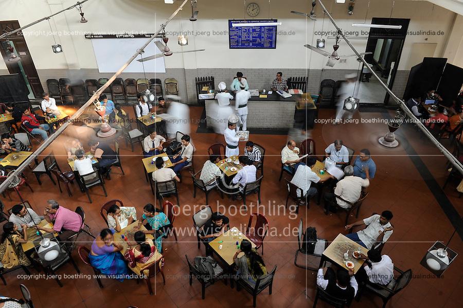 INDIA Westbengal Calcutta Kolkata, Indian Coffee House near University / INDIEN Westbengalen Megacity Kolkata Kalkutta, Indian Coffee House im Uni Viertel