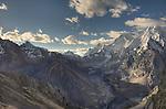 Late Afternoon from the San Antonio Pass, Cordillera Huayuash, Peru